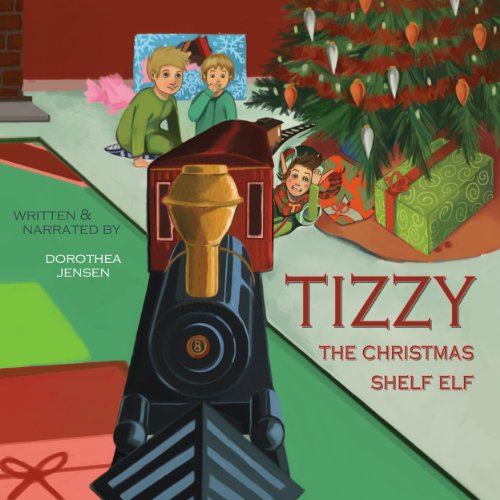Tizzy, the Christmas Shelf Elf audiobook cover art