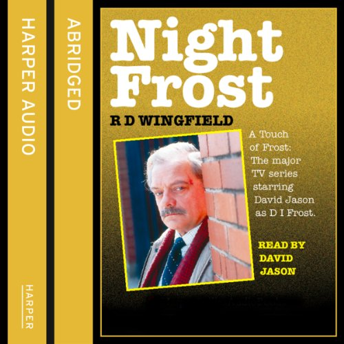 Night Frost audiobook cover art