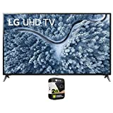 LG 70UP7070PUE 70 Inch LED 4K UHD Smart webOS TV 2021 Model Bundle with Premium 2 Year Extended Protection Plan