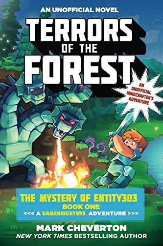 Terrors of the Forest The Mystery of Entity303 Book One A Gameknight999 Adventure An Unofficial product image