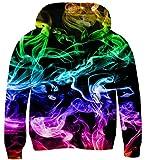 TUONROAD 3D Print Kids Pullover Teens Hoodies Casual Hooded Sweatshirts Tops...