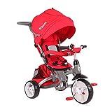 Lorelli 10050300004 Tricycle Évolutif pour Bébé/Enfant Hot Rock