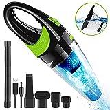 Handheld Vacuum, Cordless Hand Held Wet Dry Vacuum Cleaner with 4Kpa Powerful Suction