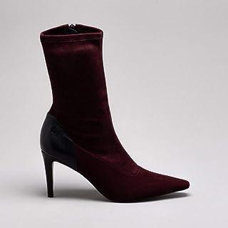 Ankle Boot Nobuck Strech Cacau