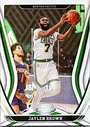 2020-21 PANINI CERTIFIED #67 JAYLEN BROWN CELTICS BASKETBALL NBA