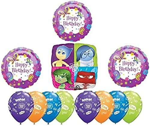 Inside Out Party Supplies Disney Inside Out Your'e The Best Happy Birthday Party Balloon Decoration