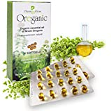 Organic Oregano Oil 30 Softgels Blister Hygiene Pack. Guaranteed 80% Carvacrol by Physis & Ideas