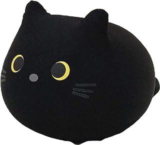 JiYanTang Poupée en Forme de Chats Noirs,créatif oreillers de poupée Bureau Sieste vers Le Bas en Peluche poupée oreillers...
