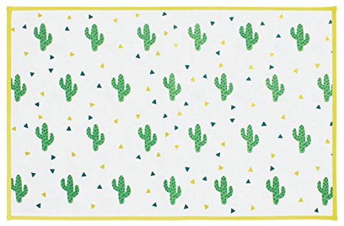 Gelco Design 710584 Tapis de Bain, Coton/Latex, Multicolore, 80 x 50 x 0,38 cm