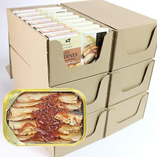 食の達人森源商店 燻製 スモーク オイルサーディン オニオン風味 48缶 常温便 同梱不可 業務用 お取り寄せグルメ