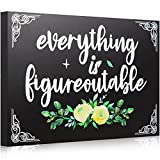 Motivational wood sign application: your daily inspirational quotes to use for your desk sign or desk accessories, good display for office decor,office desk or shelf accent;Keep your thoughts positive and be encouraging in your workplace or workspace...