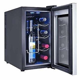 8-Flaschen-WEINKUeHLSCHRANK-KUeHLBOX-KUeHLSCHRANK-MINIBAR-Winecooler