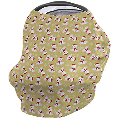 Best Deals! Baby Nursing Cover Breastfeeding Cover Soft Breathable Chemical-Free 360° Coverage, Chr...