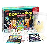 STEM Learning My Glow in The Dark Soap Making Lab, Make Glowing Soap, Best Gift for Kids, Great Science Gift for Girls and Boys