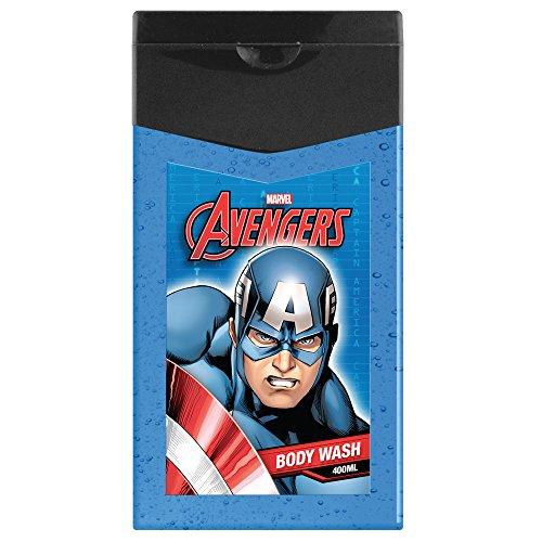 Avengers - Marvel Gel Douche Fluo Motif Captain America 350 ml