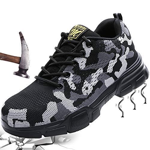 Mitudidi Chaussures de Sécurité Légère Homme 45...