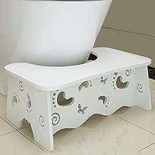Tabouret de Toilette Accroupi Repose-Pieds de Toilettes Contre Constipation H/émorro/ïde Flatulence Pissente Tabouret Physiologique de Toilettes