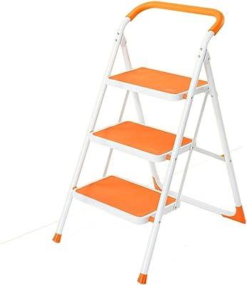 QQXX escalón, Escalera Plegable doméstica pequeña Espesar Escalera ...