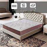 ROYAL SLEEP Colchón viscoelástico 90x200 firmeza Media, Alta Gama, Confort y adaptabilidad Alta, Altura 22cm - Colchones Dormant Plus