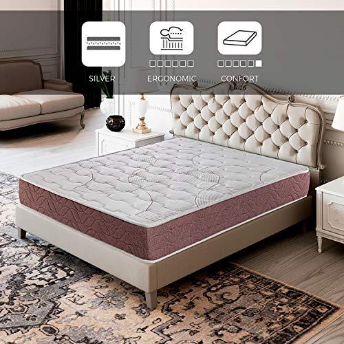 ROYAL SLEEP Colchón viscoelástico 150x190 firmeza Media, Alta Gama, Confort y adaptabilidad Alta, Altura 22cm - Colchones Dormant Plus