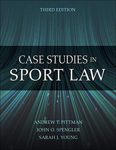 Case Studies in Sport Law (English Edition)