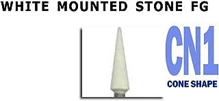 White Mounted Stones CN1 Dental Polishing 12/per Box