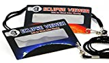 Eclipse Glasses and Solar Viewers - Total Solar Eclipse 2017 (10 Pack) CE & ISO Certified - Includes Wearable Lanyard - Great for Kids!! Made in USA
