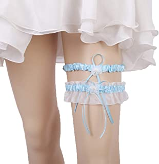 986b3fbb2b5 Lace Garter Set Wedding Garter Belt Flower Floral Design Garter for Bride