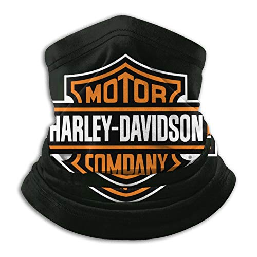 Best& Harley Davidson Premium Tube Scarf for Men and Women, Bandana, Mouth Guard, Multifunctional Scarf, Face Mask, Tube Scarf for Motorcycle, Elastic and Breathable.