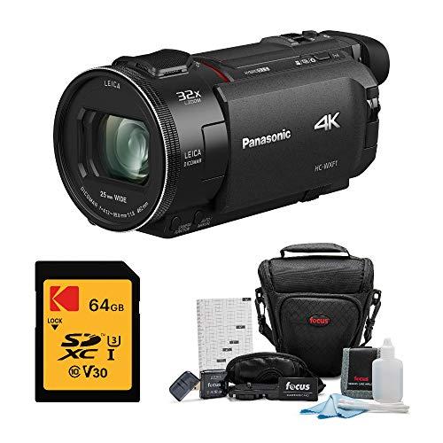 %20 OFF! Panasonic HC-WXF1K 4K Ultra HD Cine Camcorder with 24x Zoom Lens Bundled with 64GB U3 V30 S...