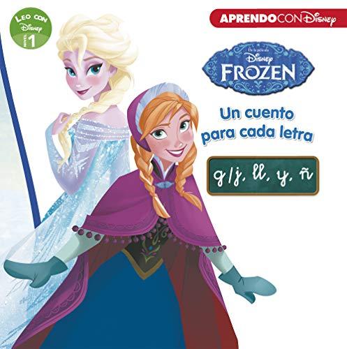 Frozen. Un cuento para cada letra: g/j, ll, y, ñ (Leo con Disney - Nivel 1)