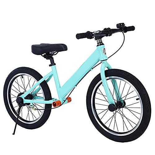 Bicicletas sin Pedales Azul Bicicletas para Caminar Sin Pedales con Neumáticos de Goma de 18 Pulgadas, Bicicleta de Equilibrio Deportiva para Niños de 7 8 9 y 10 Años en Adelante ( Size : 18-Inch )
