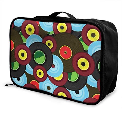 Bolsa de viaje, bolsa de viaje con ruedas, maletas ligeras portátiles, bolsa...