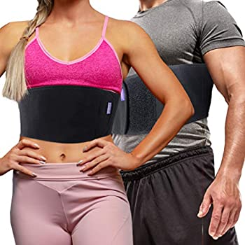 Everyday Medical Broken Rib Brace for Men and Women - Bamboo Charcoal Rib Support Compression Brace - accelerates The Healing of Cracked Dislocated Fractured and Post-Surgery Ribs - Large