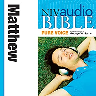 Pure Voice Audio Bible - New International Version, NIV (Narrated by George W. Sarris): (29) Matthew audiobook cover art