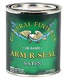 General Finishes Arm-R-Seal Couche de finition à base d'huile Brillant 1 pinte, ASQT