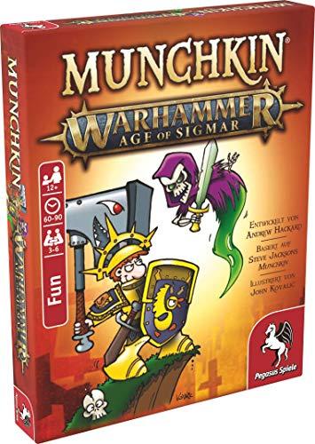 Pegasus Spiele 17020G - Munchkin Warhammer Age of Sigmar