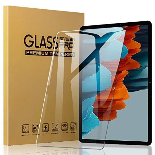 A-VIDET Panzerglas für Samsung Galaxy Tab S7 11 Zoll 2020, 9H Härte Schutzfolie Anti-Kratzer/Bläschen/Fingerabdruck/Staub Displayfolie Panzerglasfolie für Samsung Galaxy Tab S7 2020 (2 Stück )