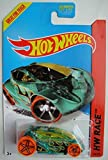 Hot Wheels HW RACE, GREEN VANDETTA 174/250 ORANGE WHEELS