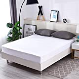 M-bestl Waterproof Mattress Protector King Size Bed,Mattress Cover,100% Waterproof and Breathable,Deep Pocket,10 Years