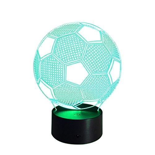 KDXBCAYKI Mini-tafellamp met afstandsbediening, draadloos, touch-LED, nachtlampje, werkt op batterijen, voor hoofd, kinderkamer, slaapkamer, cartoonbal
