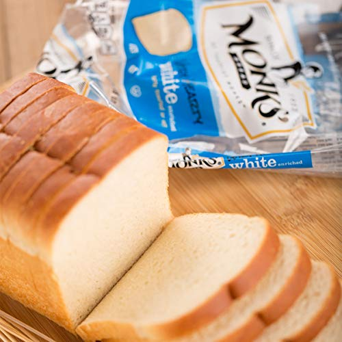 Monks' White Bread 3 Loaf Bundle (3 x 1lb. Loaves)