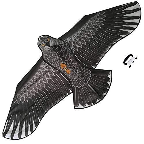 Amplia Cometa De águila para Niños Y Adultos, Enorme Enwingspan Y Juguete Volador, Fácil De Volar, Fácil De Volar para Juegos Al Aire Libre En La Playa