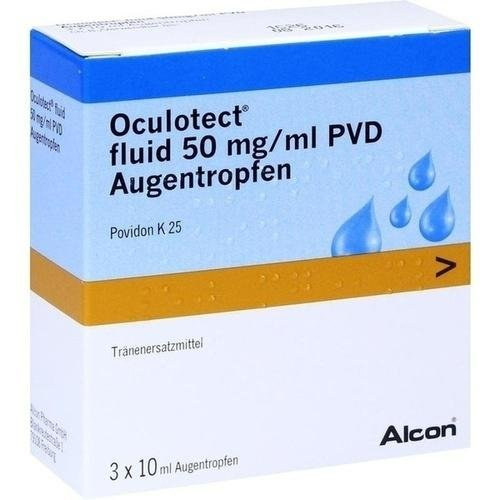 OCULOTECT fluid PVD Augentropfen 3X10 ml