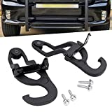 StarONE Front Tow Hooks Fit for 2007-2018 Dodge ram 1500,2019 Ram 1500 Classic Replace OEM 82210967 68196982AA