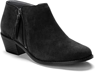 Women's Joy Serena Ankle Boot - Ladies Everyday Boots with Concealed Orthotic Arch Support