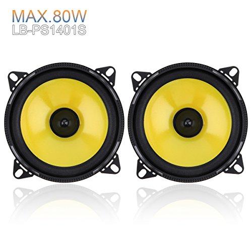 2pcs 4 inch 60W 2-Way Full Range Frequency Car Audio Stereo Speaker Car...