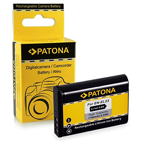 Bateria EN-EL23 ENEL23 para Nikon Coolpix P600 | Coolpix P610 | Coolpix P900 | Coolpix S810c