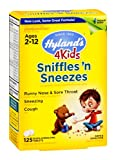 Hyland's Sniffles N'Sneezes 4 Kids, 125 tab ( Multi-Pack)
