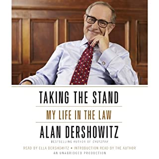 letters to a young lawyer audiobook by alan m dershowitz
